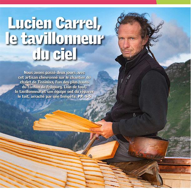 Lucien Carrel, le tavillonneur du ciel